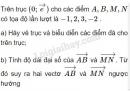 Bài 1 trang 26 SGK Hình học 10
