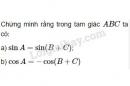 Bài 1 trang 40 SGK Hình học 10