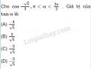 Câu 10 trang 157 SGK Đại số 10