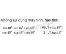 Bài 12 trang 161 SGK Đại số 10