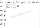 Câu 13 trang 157 SGK Đại số 10