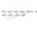 Bài 2 trang 12 SGK Hình học 10