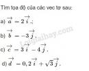 Bài 3 trang 26 SGK Hình học 10