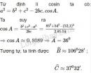 Bài 2 trang 59 SGK Hình học 10