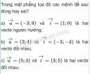 Bài 2 trang 26 SGK Hình học 10