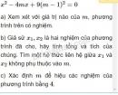 Bài 3 trang 160 SGK Đại số 10