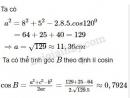 Bài 3 trang 59 SGK Hình học 10