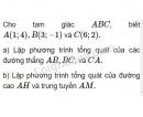Bài 3 trang 80 SGK Hình học 10
