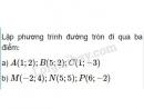 Bài 3 trang 84 SGK Hình học 10