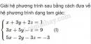 Bài 5 trang 160 SGK Đại số 10