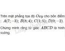 Bài 6 trang 46 sgk hình học 10