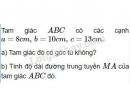 Bài 6 trang 59 SGK Hình học 10