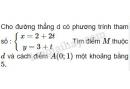 Bài 6 trang 60 sgk hình học 10