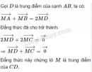 Bài 7 trang 17 SGK Hình học 10