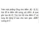 Bài 7 trang 46 sgk hình học 10