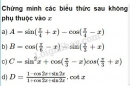 Bài 8 trang 156 SGK Đại số 10