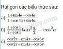 Bài 8 trang 161 SGK Đại số 10