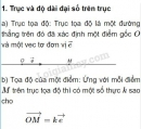 Lý thuyết hệ trục tọa độ