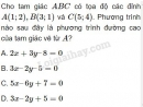 Bài 1 trang 94 SGK Hình học 10