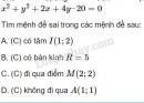Câu 12 trang 95 SGK Hình học 10
