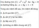 Câu 14 trang 96 SGK Hình học 10