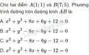 Câu 18 trang 96 SGK Hình học 10