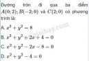 Câu 19 trang 96 SGK Hình học 10