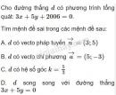 Bài 5 trang 94 SGK Hình học 10
