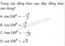 Bài 1 trang 63 SGK Hình học 10