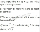 Bài 10 trang 28 SGK Hình học 10