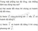 Câu 10 trang 28 SGK Hình học 10
