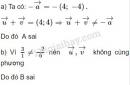 Bài 10 trang 30 SGK Hình học 10