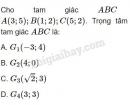 Bài 11 trang 30 SGK Hình học 10