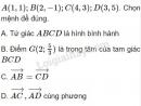 Bài 12 trang 30 SGK Hình học 10