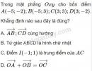 Bài 13 trang 30 SGK Hình học 10