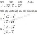 Bài 14 trang 30 SGK Hình học 10