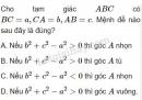 Bài 15 trang 65 SGK Hình học 10