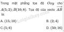 Bài 18 trang 31 SGK Hình học 10