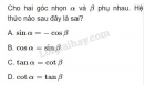 Bài 18 trang 65 SGK Hình học 10