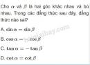 Câu 2 trang 63 SGK Hình học 10