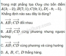 Bài 20 trang 31 SGK Hình học 10