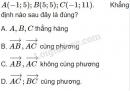 Bài 21 trang 31 SGK Hình học 10