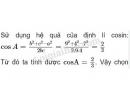 Câu 21 trang 65 SGK Hình học 10