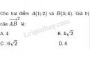 Câu 22 trang 65 SGK Hình học 10