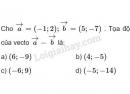 Bài 23 trang 32 SGK Hình học 10
