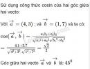 Bài 23 trang 66 SGK Hình học 10