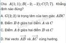 Bài 26 trang 32 SGK Hình học 10