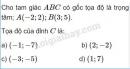 Bài 28 trang 32 SGK Hình học 10