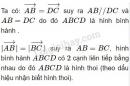 Bài 3 trang 27 SGK Hình học 10