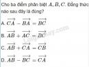 Câu 5 trang 29 SGK Hình học 10